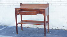 Mahogany Sheraton Server Sideboard Table Antique 20th Century Refinished