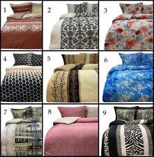 Bettwäsche 155x220 cm wählbar Design Muster Schlafzimmer Garnitur Reißverschluss