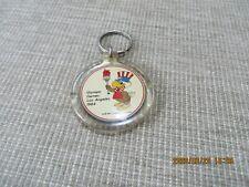Vintage 1984 Los Angeles Olympics Acrylic Keychain Souvenir Sam the Eagle