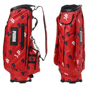 PUMA Golf P-Graphic 867920 caddie bag Red 6way Top Size 9.5 2.5kg