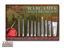The Army Painter Wargamers MEGA Brush Set -  BNIB