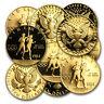 U.S. Mint Gold $10 Commem BU/Proof (AGW .4838 oz, Capsule) - SKU #9580