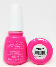 Gelaze by China Glaze -Nail Gel Polish- Gel-n-Base In One - Series 2 -Pick Color