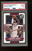 2014 Panini Donruss #170 Lebron James Cavaliers PSA 9 MINT