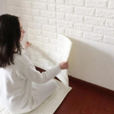 PE Foam 3D Brick Wall Sticker Self-Adhesive DIY Wall Panels Home Room Decal