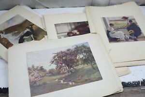 Antique Art Prints Pages Masters Deconstructed Art Book 49 Prints