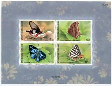THAILAND STAMP 2001 BUTTERFILES 4th SERIES INSECT BUTTERFLY S/S SHEET