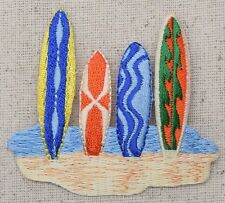 Surfboards Tropical/Beach/Colorful Surf Board Iron on Applique/Embroidered Patch