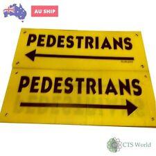 Nbn,Telstra,Optus Builder Construction Safety Pedestrian Road/Street/Fence Sign