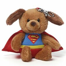 DC Comics Gund Superman Backpack Clip Griffin Dog Plush 4048562