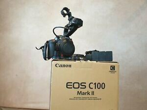 Canon EOS C100 Mark II (mk2) Cinema Camera 707 hours