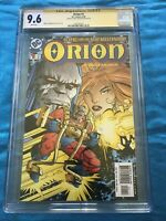 Orion #1 - DC - CGC SS 9.6 NM+ - Signed by Walt Simonson