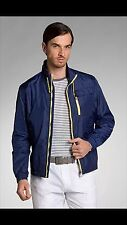 NWT MENS HUGO BOSS Sporty bomber jacket 'Carter' by BOSS Black SIZE 46R