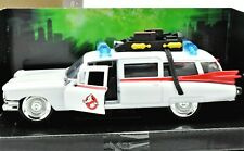 MODELLINO AUTO CADILLAC GHOSTBUSTERS ECTO-1 FILM SCALA 1:32 CAR MODEL DIECAST