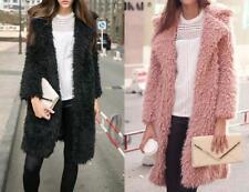 Women's Regular Faux Fur Basic Coats & Jackets