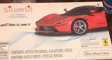 SILVERLIT interactive bluetooh R/C ferrari use ipod, iphone or ipad New In Box