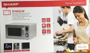 Brand New Sharp 25L Microwave R744SLM Microwave-900W with Grill-1000W