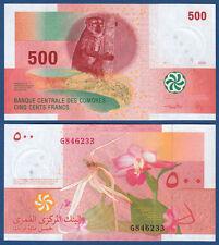 KOMOREN / COMOROS  500 Francs 2006 UNC  P. 15 b