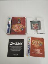Zelda Oracle of Seasons game boy Advance gameboy gbc