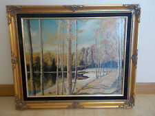 Oil Painting on Canvas-Framed