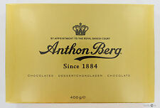Anthon Berg Gold Chocolate Gift Box  400 g Net ( 14.00 oz ) Made in Denmark