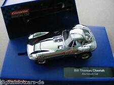 Carrera Digital 132 30648 Thomas Cheetah Aluminium Car LICHT NEU
