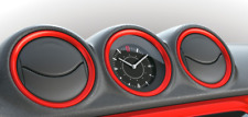 NEW Genuine Suzuki VITARA Dash board RED Clock BEZELS 990E0-54P74-ZCF SET of 5