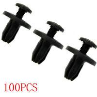 6 - loch - dia fender stoßstange clips plastik - nieten push - verschluss
