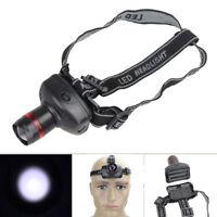 500LM 3W CREE LED Headlamp Flashlight ZOOMABLE Headlight Lamp 3xAAA Waterproof