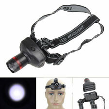 500LM 3W CREE LED Headlamp Flashlight ZOOMABLE Headlight Lamp 3xAAA Waterproof