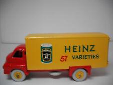 VINTAGE DINKY SUPERTOYS MECCANO.#923G BIG BEDFORD HEINZ 57 VAN RESTORED