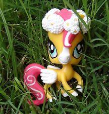 Littlest Pet Shop basic custom horse with flower crown ooak custom figure LPS