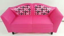 Barbie Glam Hot Pink Sofa Couch Dollhouse Dream House Furniture