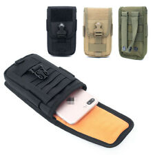 Universal Tactical Molle Pouch Belt Waist Fanny Pack Bag Military Phone Pocket