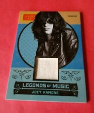 JOEY RAMONE THE RAMONES SINGER WORN RELIC MEMORABILIA CARD 14 GOLDEN AGE MUSIC