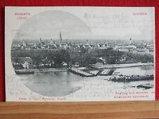 Fotokarte - Neusatz a.d. Donau / Novi Sad / Ujvidek - Pontonbrücke - gel 1905
