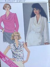 Butterick #3470- PATTERN NEW Loose Fitting Pullover Blouse sizes 6-8-10.