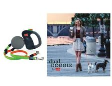 Retractable Dual Leash for Dog - Walk 2 dogs same time Technology