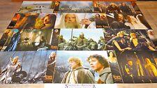 LE SEIGNEUR DES ANNEAUX II  p jackson jeu 12 photos cinema prestige grand format