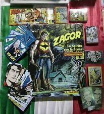 Zagor Album panini SOLO set completo di tutte le figurine e le card