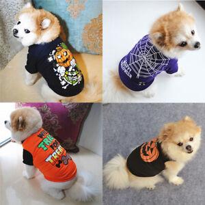 Pet Puppy Cat Dog Sleeveless T-shirt Pet Vest Dog Clothes Shirt Costume Apperal~