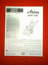 ARIENS ROTARY TIMONE ROTO TIMONE 3 HP 4 HP 5 HP 6 HP Parti Manuale