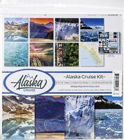 "Reminisce Collection Kit 12""X12""-Alaska Cruise"