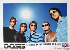 "OASIS ""STANDING ON THE SHOULDERS"" HONG KONG PROMO POSTER -Shining Sun Over Group"