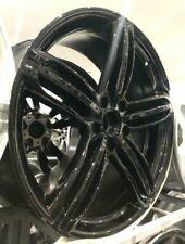"22""rs6 black b alloy wheels audi q7/vw tourag 5x130/porsche cayenne with tyres"