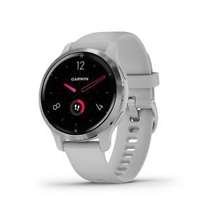 Garmin Venu 2S GPS Sport Fitness Smartwatch Silver/Mist Gray AMOLED