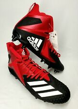 New Adidas Football Cleats Freak X Carbon Shoe CG4406 Black/White/Red Mens Sz 11
