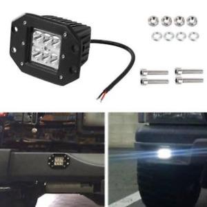 1x 12V/24V 18W Spot Beam LED Work Light Bar Offroad Driving Lamp UTE ATV