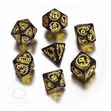 Dragon Dice Black/Yellow (7) Board Game