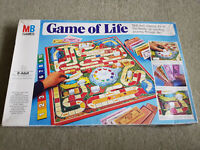 GAME OF LIFE Vintage 1978 Board Game by MB Games 100% Complete GOOD CONDITION
